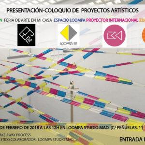 03.01.2018 Presentación-Coloquio De Proyectos Artísticos