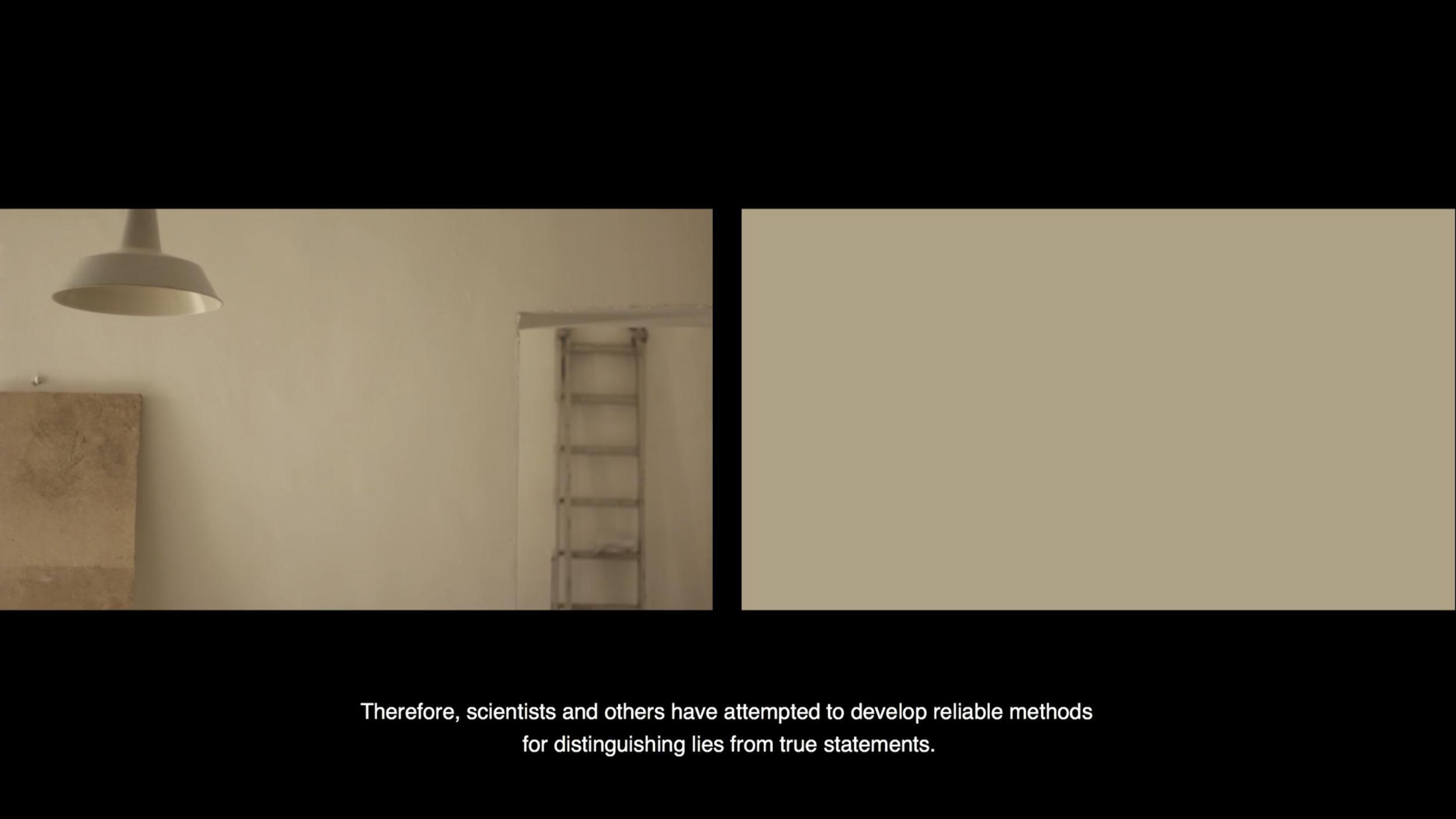 proyector_videoarte2018_Undiscovered_lie_ceciliaceccherini_chiaraiacovone