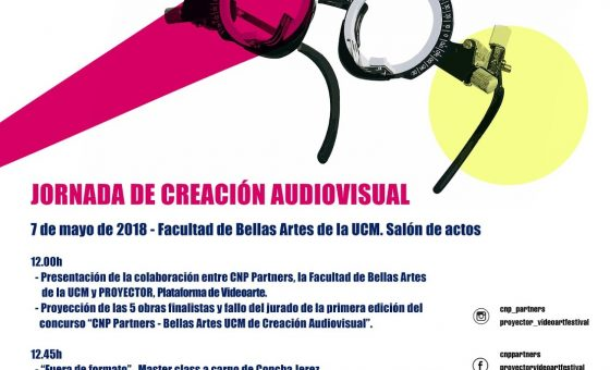 7.05.2018 Jornada Creación Audiovisual + Concha Jerez