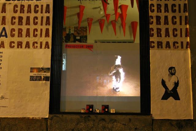 13.07.2011. Cinescaparate en la LAPIEZA