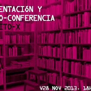 V29 NOV 2013. ARREBATO LIBROS. Presentación RALLITO-X