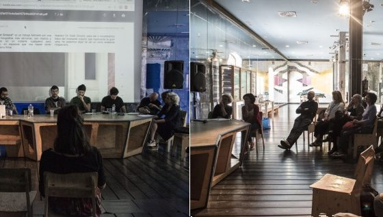 09.10.2016. Encuentro de artistas. Intermediæ-Matadero Madrid
