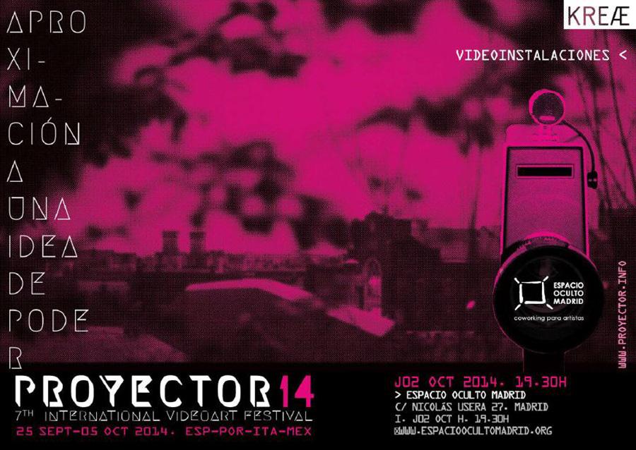 proyector_plataforma_de_videoarte_sede_espacio_oculto_madrid_2014