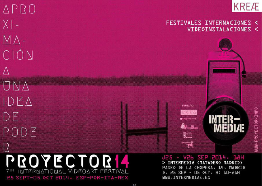 25 sep – 05 oct. 2014 Intermediae – Matadero Madrid