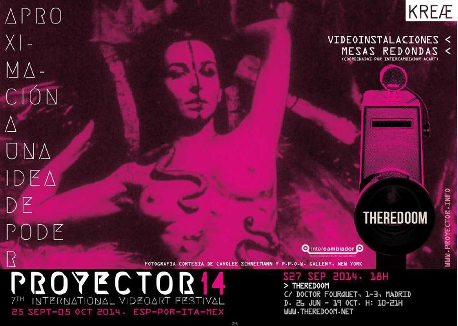 proyector_plataforma_de_videoarte_sede_theredoom_2014
