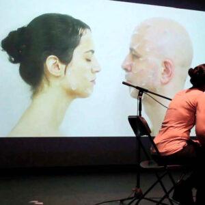 28.02.2020. 20h. Performance de Arturo Moya y Ruth Abellán